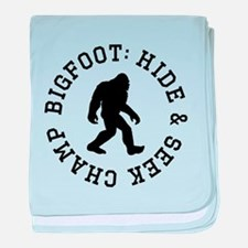 Bigfoot: Hide And Seek Champ baby blanket