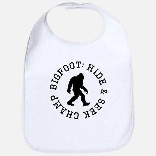 Bigfoot: Hide And Seek Champ Bib