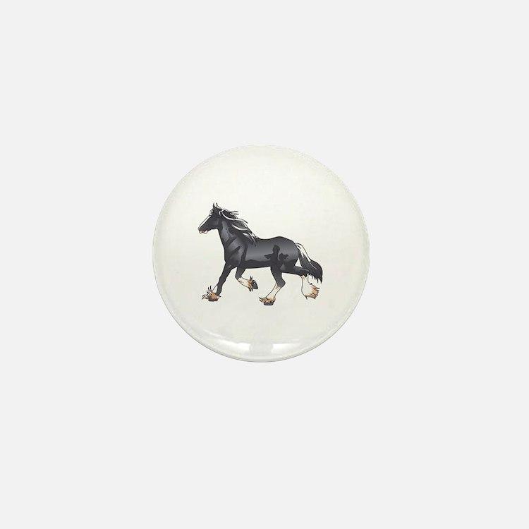 DRAFT HORSE Mini Button