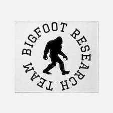 Bigfoot Research Team Throw Blanket