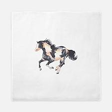 PAINT HORSE Queen Duvet
