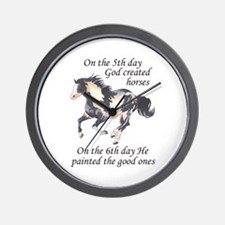 ON THE SIXTH DAY Wall Clock