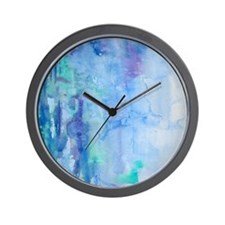 108872005 Blue Water Wall Clock