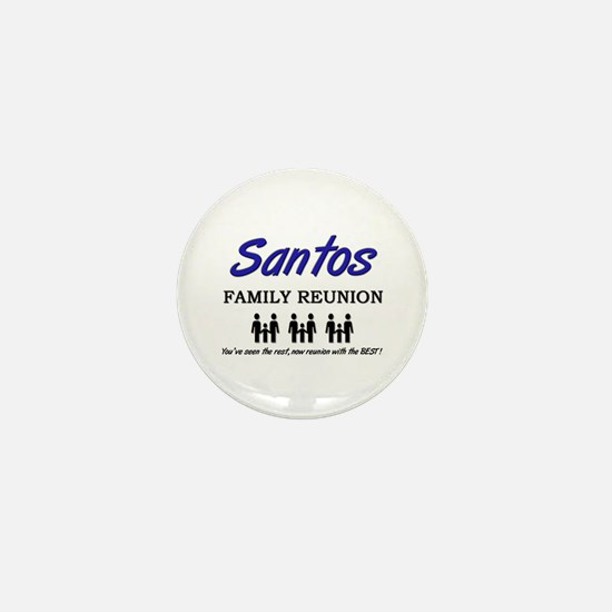 Santos Family Reunion Mini Button