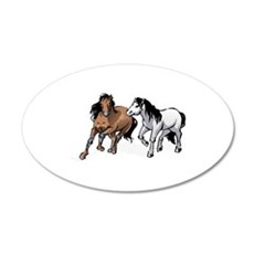 HORSES ONLY Wall Decal
