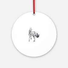 MAJISTIC HORSE Ornament (Round)