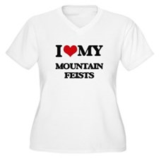 I love my Mountain Feists Plus Size T-Shirt