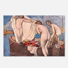 Classic nude art Postcards (Package of 8)