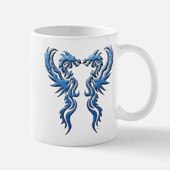 twin dragons new (W).png Mugs