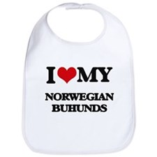 I love my Norwegian Buhunds Bib