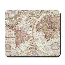 108872005 Antique Map Mousepad