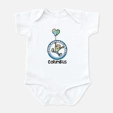 Columbus: Happy B-day to me Infant Bodysuit