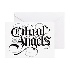 City of angels DLT Greeting Card