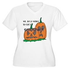 Halloween Smashed Pumpkins T-Shirt