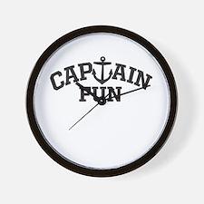 Captain Fun Wall Clock
