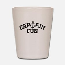 Captain Fun Shot Glass