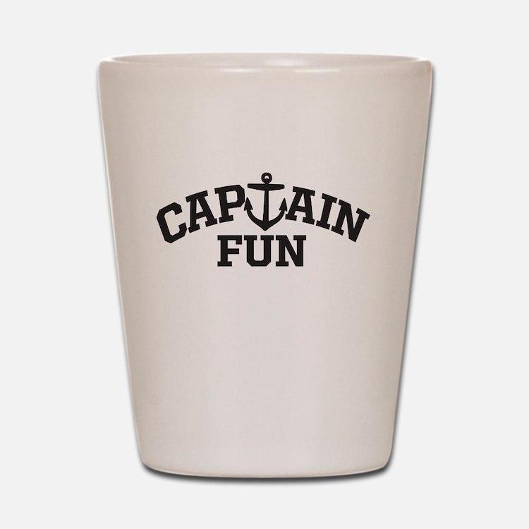 Captain Fun Shot Glass
