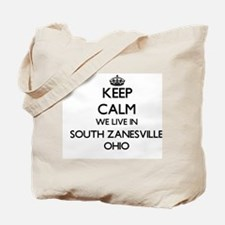 Keep calm we live in South Zanesville Ohi Tote Bag