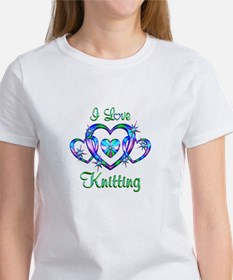 I Love Knitting Women's T-Shirt