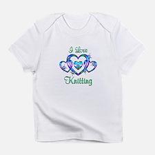 I Love Knitting Infant T-Shirt