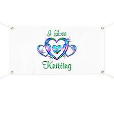 I Love Knitting Banner