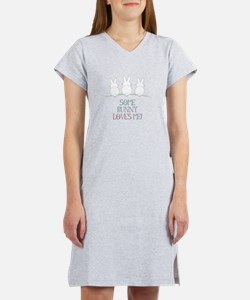 Some Bunny Loves Me Women's Nightshirt