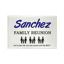 Sanchez Family Reunion Rectangle Magnet