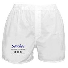 Sanchez Family Reunion Boxer Shorts
