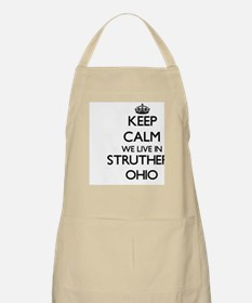 Keep calm we live in Struthers Ohio Apron