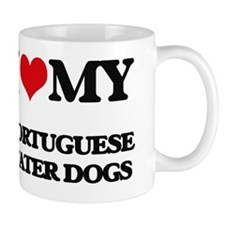 Cute Portuguese water dog Mug