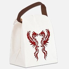 twin dragons (t).png Canvas Lunch Bag