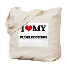 I love my Pudelpointers Tote Bag