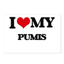 I love my Pumis Postcards (Package of 8)