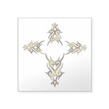 tribal cross.png Sticker