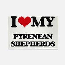 I love my Pyrenean Shepherds Magnets