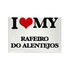 I love my Rafeiro Do Alentejos Magnets