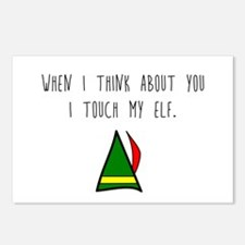 I Touch My Elf Postcards (Package of 8)