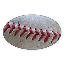 Baseball Stitches Decal