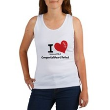 I Heart Someone with a CHD Tank Top