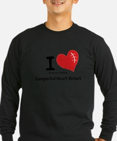 I Heart Someone with a CHD Long Sleeve T-Shirt