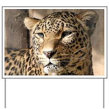 Leopard001 Yard Sign