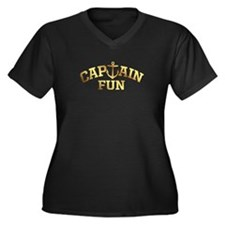 Captain Fun Plus Size T-Shirt
