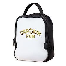 Captain Fun Neoprene Lunch Bag