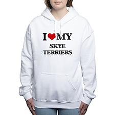 I love my Skye Terriers Women's Hooded Sweatshirt