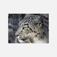 Leopard002 5'x7'Area Rug