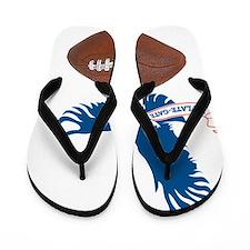 DeflateGate Hawk Flip Flops