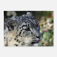 Leopard003 5'x7'Area Rug
