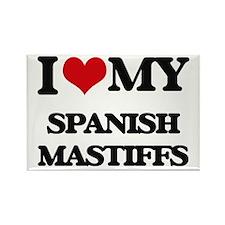 I love my Spanish Mastiffs Magnets