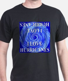 I Love Hurricanes T-Shirt