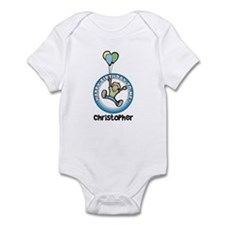 Christopher: Happy B-day to m Infant Bodysuit